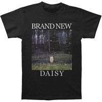 Brand New Men's  Daisy T-shirt Black