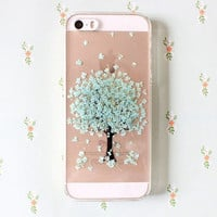 Pressed Flower Life Tree Phone Cases