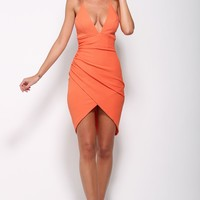 Never Land Dress Orange