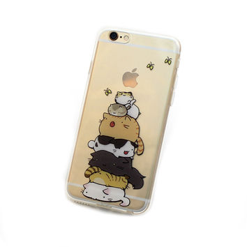 iPhone 6, 6 Plus Stack o' Cats Case