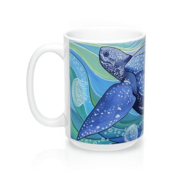 Leatherback Sea Turtle Coffee Mug