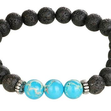 Black Natural Stone Bracelet For Women