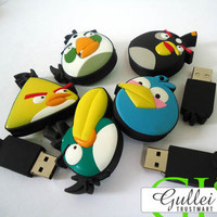Angry Birds Cartoon Unique Flash Drive