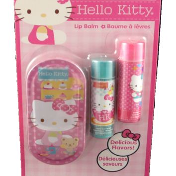 how to make hello kitty lip balm
