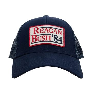 Rowdy Gentleman Reagan Bush '84 Hat - Navy