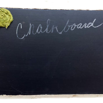 Chalkboard Rustic shabby chic cottage Chalk board with burlap flowers mustard yellow olive green burnt orange primitive home decor