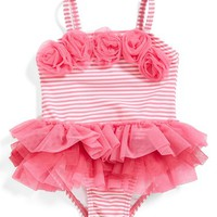 Infant Girl's Little Me Stripe Tutu