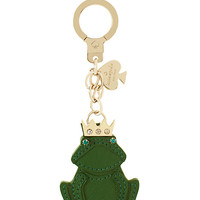 Kate Spade Frog Keychain Green ONE
