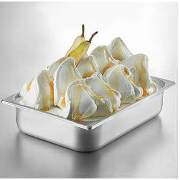 Ice Cream Mix in Creme Pear