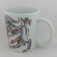 Capricorn the Goat 11oz White Ceramic Mug