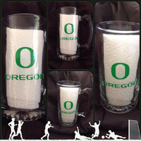 Oregon Ducks Beer Mugs