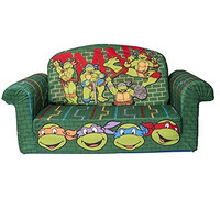 Marshmallow Fun Furniture Nickelodeon's Teenage Mutant Ninja Turtles - Retro Flip Open Sofa
