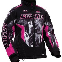 2014 Castle Psych Bolt SE Girls Snowmobile Jackets - Youth Large