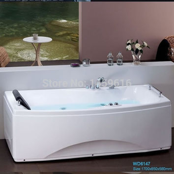 67' Sea Shipping Whirlpool Bathtub Acrylic ABS Composite Board Piscine Massage Hot tub W4006