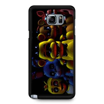 Five Nights At Freddy S 2 - Pixel Art - Foxy Samsung Galaxy Note 5 Case