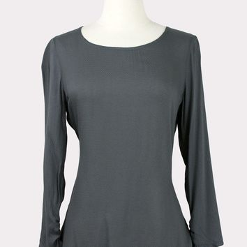 Tiara Top in Charcoal