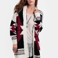 Hopeless Wanderer Aztec Cardigan