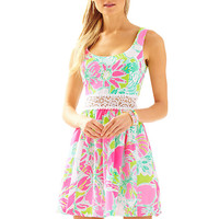 Rosemarie Printed Scoop Neck Dress - Lilly Pulitzer
