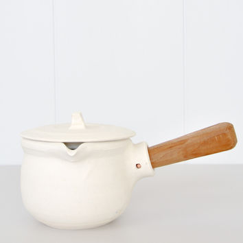Katsufumi Baba - Milk Pot - White