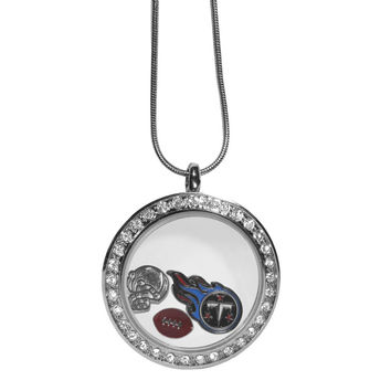 Tennessee Titans Locket Necklace FLOC185