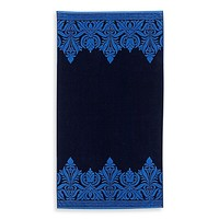 Gypset Oversized Beach Towel in Blue