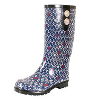 Anchor's Away Rain Boot Size 6
