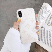 Louis Vuitton LV  iPhone Phone Cover Case For iphone X iphone 8 8plus iPhone6   6s 6plus 6s-plus iPhone 7 7plus