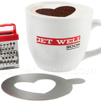 GET WELL CAPPUCCINO MUG GIFT SET