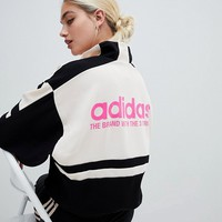 adidas Originals Aa-42 Motorcross Track Jacket In Black at asos.com