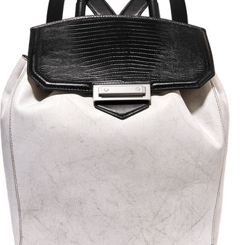 Prisma paneled leather backpack | Alexander Wang | US | THE OUTNET