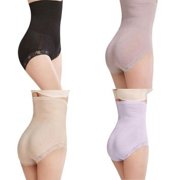 Women Body Shaper Control Slim Tummy High Waist Panty Shapewear Briefs Underwear