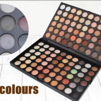 120 Colours Earth Tone Makeup Eye Shadow Palette
