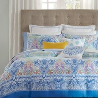 Echo Painted Paisley Comforter and Duvet Sets | macys.com