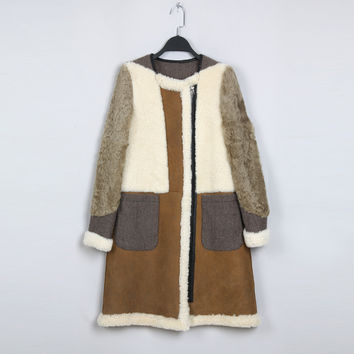 Indie Designs Celine Inspired Shearling Coat