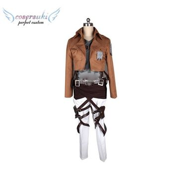 Cool Attack on Titan  3 Reiner Braun/ Armored / Ymir  Cosplay Costumes Stage Performence Clothes , Perfect Custom for You ! AT_90_11