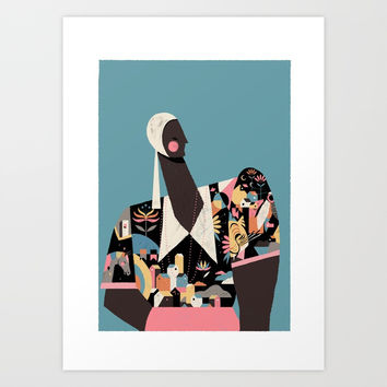 MALI Art Print by williansantiago