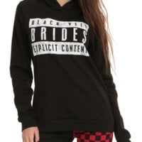 Black Veil Brides Explicit Content Girls Hoodie