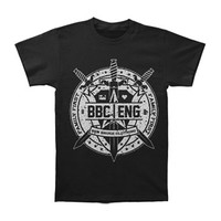 Asking Alexandria Men's  Swords Slim Fit T-shirt Black Rockabilia