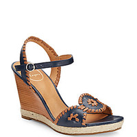 Jack Rogers - Clare Whipstitch Leather Sandals