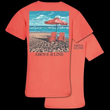 Couture Above The Line Tranquil Beach Comfort Colors T-Shirt