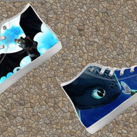 How to Train Your Dragon Custom Canvas High Top Hi Top Shoes Unofficial