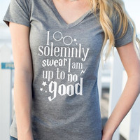 I Solemnly Swear T-Shirt without Necklace - Bellelily