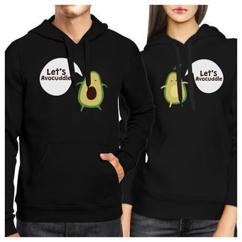 Let's Avocuddle Couple Hoodies His And Hers Matching Holiday Gifts