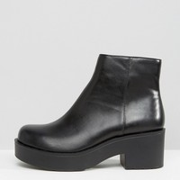 London Rebel Chunky Low Boot at asos.com