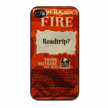 Taco Bell Sauce Packet iPhone 4 Case