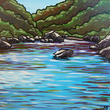 California River Painting