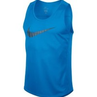 Nike Men's Swoosh Miler Grid Tank Top - Dick's Sporting Goods