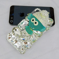 Cartoon iPhone case,bling iphone 6 case,Crystal iphone 6 Plus,Rhinestone iphone 5/5S/5c,iphone 4 case samsung galaxy S3/S4/S5