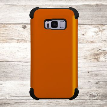 Solid Color Burnt Orange for Apple iPhone, Samsung Galaxy, and Google Pixel