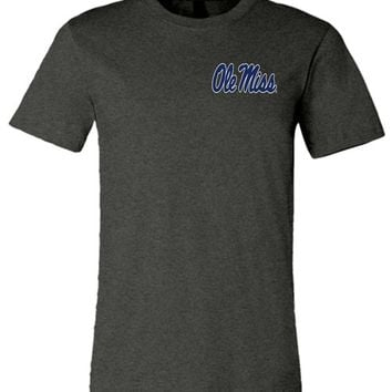 Official NCAA University of Mississippi Rebels Ole Miss Hotty Toddy 1848 Unisex T-Shirt - 35OLM4